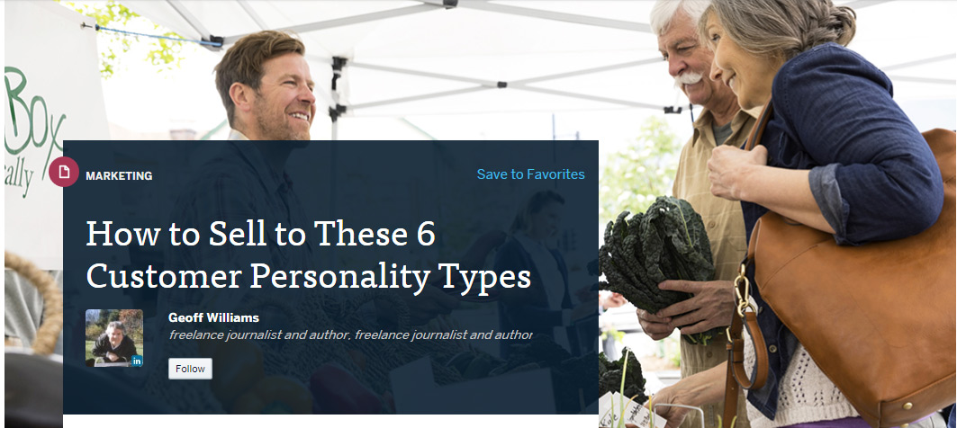 How to Sell to These 6 Customer Personality Types